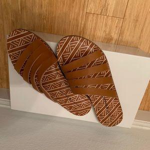Lucky brand brown sandals